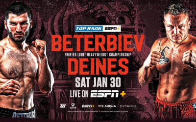 Artur Beterbiev to return to the ring against Adam Daines in Moscow to defend his light-heavyweight belts