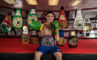 ising Florida star Jeovanny Estela reflects training camp with Christopher Diaz for May 1 fight boxrec amateur career record pro joshua zimmerman wiki watch highlights trainer