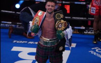 "Josh Taylor targets ""once in a lifetime opportunity"" to face Terence Crawford at Edinburgh Castle jose ramirez predictions ben davison trainer scotland ken buchanan mcguigans what happened money dispute"
