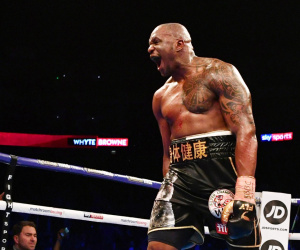 Dillian Whyte ready to 'smash' Deontay Wilder in potential heavyweight fight next year